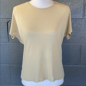 Anne Klein Petite Silk T-Shirt